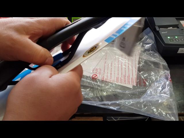 Видео Седло Pro Falcon Team Anatomic Fit 275x132mm синее