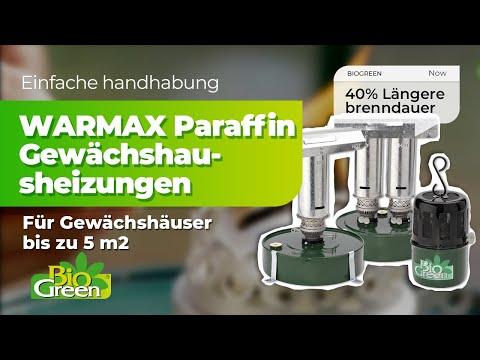 WARMAX Paraffin Gewächshausheizungen von Bio Green