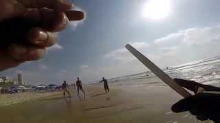 Gopro matkot bat yam beach
