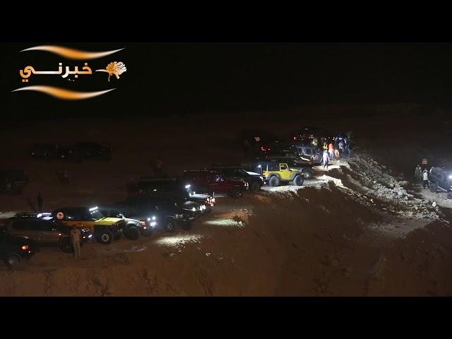 موقع حادث البحر الميت المشؤوم، الذي راح ضحيته 18 شخصا.