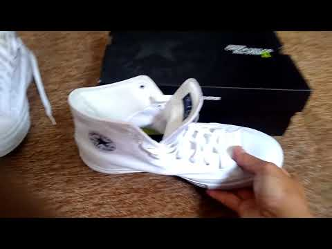 Chuck Taylor All Star 2 Mono Black - Review + Unboxing + Close up + ... c2fe992ca