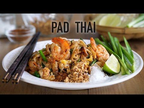 Auténtico Pad Thai de Kwan - Kwan´s Authentic Pad Thai Recipe (Fideos arroz fritos estilo Thai)