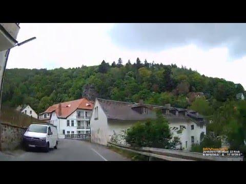 D: Stadt Bad Berneck i.Fichtelgebirge. Landkreis Bayreuth. Ortsdurchfahrt. Mai 2016