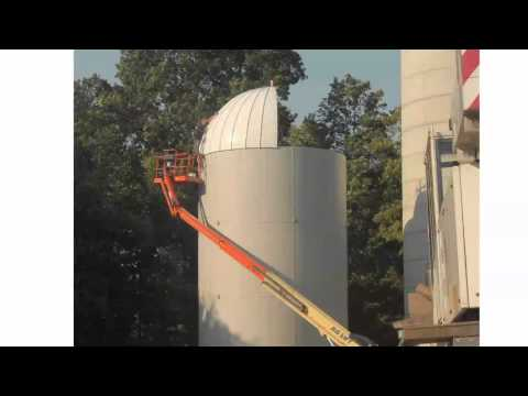 RF Transparent Silo Installation