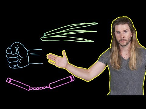 The Physics Behind Bruce Lee's One-Inch Punch! (Because Science w/ Kyle Hill)