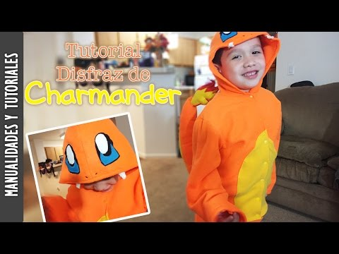 Tutorial: Disfraz de Charmander, Pokemon - Los290ss