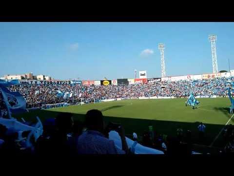 """Recibimiento Jaiba Brava"" Barra: La Terrorizer • Club: Tampico Madero"