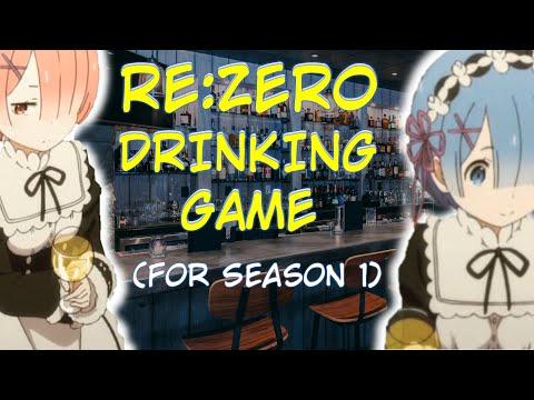 Re:Zero Drinking Game (Season 1)