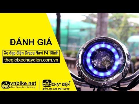 Đánh giá xe đạp điện Draca Navi F4 18inh