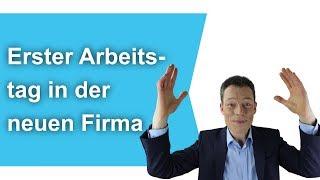 Erster Arbeitstag, Tipps: Die 5 Fiesesten Fallen (neuer JobAusbildung)  M. Wehrle