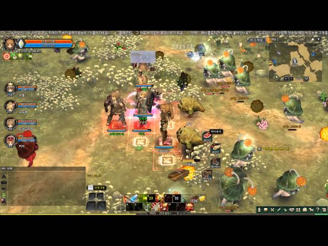 Tree of Savior Level 200 Schwarze Reiter and Centurion