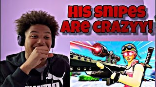 HE IS A SNIPING GOD! | Fe4RLess - Sniping is EZ | REACTION!