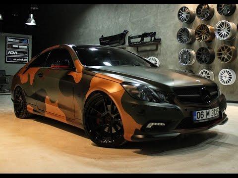 Boa Motors Mercedes E-Class Coupe on ADV.1 Wheels