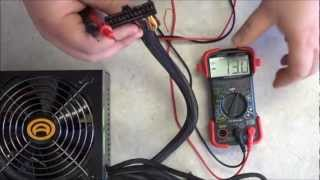 How to Test the PC's PSU