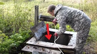 CAUGHT A TREASURE IN A DEEP WELL! AMAZING MAGNET FISHING! CrazySeeker!