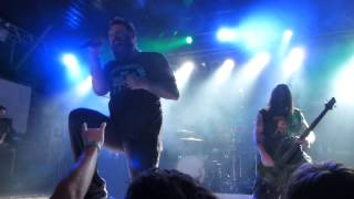 36 Crazyfists - Time and Trauma, Live @ Backstage Munich 22.2.2015