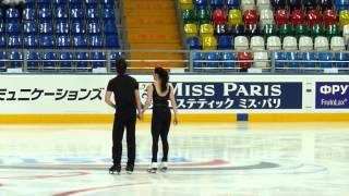 Virtue-Moir FD at practice (Rostelecom Cup 2012)
