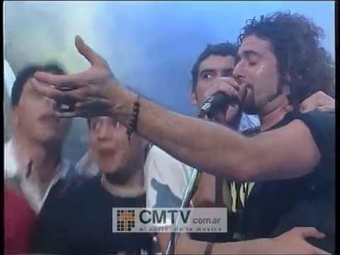Los Visitantes video Playas oscuras - CM Vivo 1997