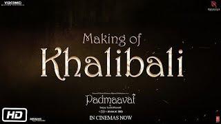 Khalibali Song Making Mp3 Padmaavat Ranveer Singh Deepika Padukone Shahid Kapoor
