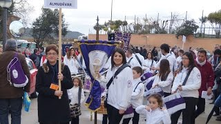 preview picture of video 'Encuentro de Bombos y Tambores Villa de Abiego 2015 La Soledad de Almudevar'