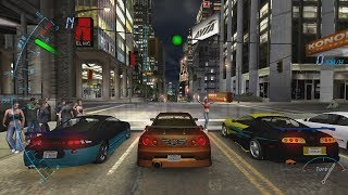 Drag Races in 8 different racing games (NFS Underground, Most Wanted, The Crew and more)