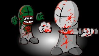 KILLING ZOMBIES! | Alone in the Madness 1 & 2 (Flash Game)