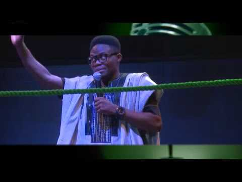 Comedian Laff Doctor Trilling Audience at Stand Up Nigeria