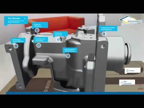 Virtuelles Bauteil als Augmented Reality App (Screenrecording)