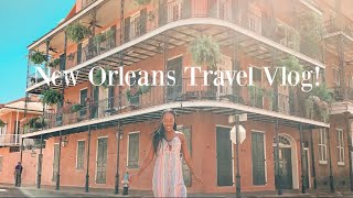 NEW ORLEANS TRAVEL DIARY! + VLOG! | Black Youtuber | Interracial Couple