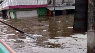 preview picture of video 'Inundacion en Minatitlan, Ver'