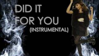 Did it For You Charice Instrumental (w/ download)