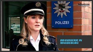 Brandserie in Magdeburg