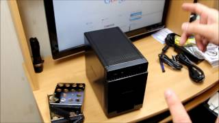 Netgear ReadyNAS 4-Bay Network Attached Storage RN104 Unboxing & Setup
