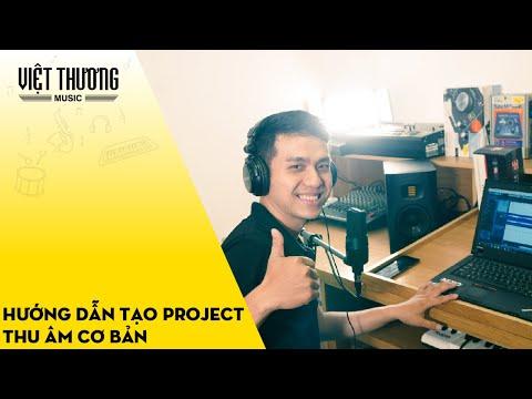 Hướng dẫn tạo project thu âm với micro SE X1 A và Soundcard Tascam US-1x2