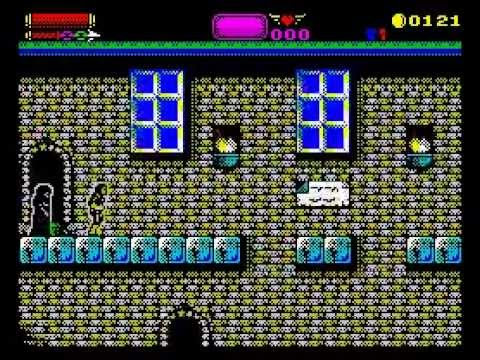 Castlevania: Spectral Interlude Walkthrough, ZX Spectrum (Full Version)