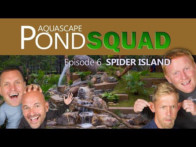 Aquascape Pond Squad - Monkey Island Waterfall & Stream - Episode 6