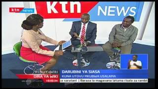 Kinyang'anyiro 2017: Darubini ya Siasa- tatizo ni lipi katika kaunti ya Baringo wakaazi wakizozana