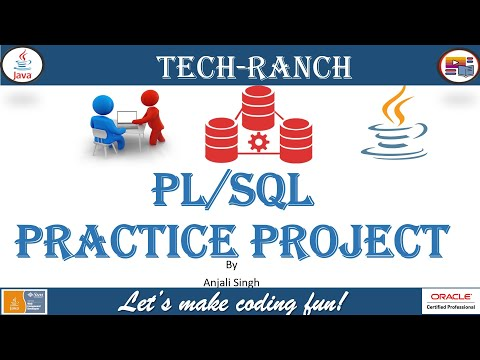 Live Demonstration of  calculate average & announcement in PL/SQL   Practice Project   @Tech-Ranch