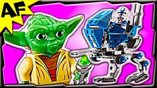 AT-RT 75002 Lego Star Wars Animated Building Review