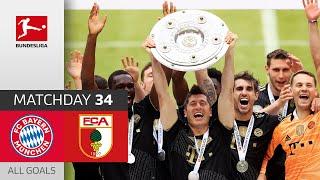 Bayern 5-2 Augsburg Pekan 34