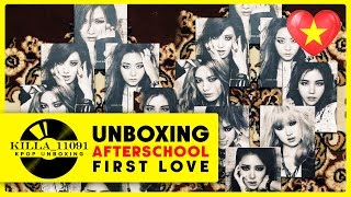 """[Unboxing] After School """"First Love"""" 6th maxi single (Full 8 version)"""