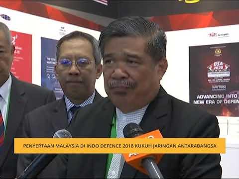 Penyertaan Malaysia di Indo Defence 2018 kukuhkan jaringan antarabangsa