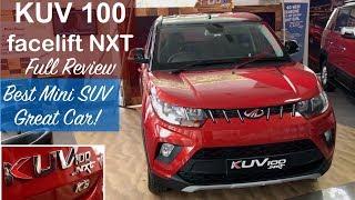 Mahindra Kuv 100 Nxt Facelift 2017 K8 Dual Tone Full Review
