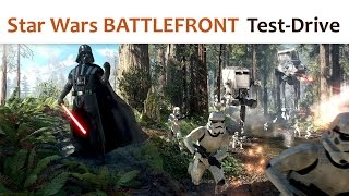 Star Wars BATTLEFRONT (Test-Drive)