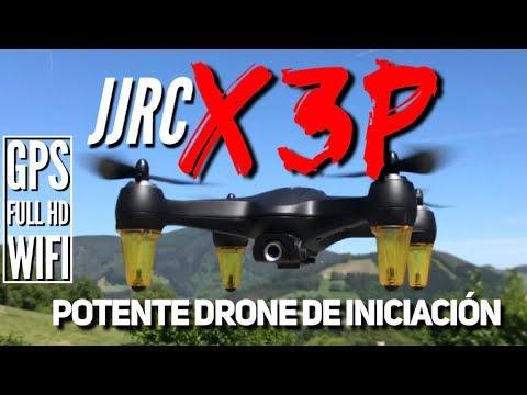 JJRC X3P: drone de iniciación potente y fácil de pilotar