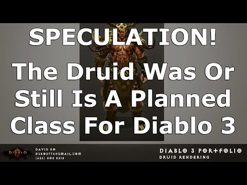Is, or Was, the Druid Planned for D3? One Streamer Thinks So