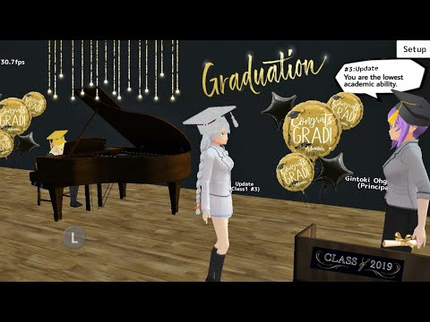 Finally we can Graduate? 🎓 Por fin nos Graduamos? [School Girls Simulator] |Update|Actualización|