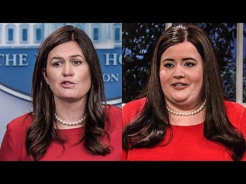 Sarah Huckabee Sanders Gets Roasted In SNL Season Premiere