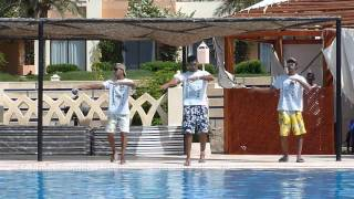 Egypt - Taba, Morgana Beach Resort - for the animators Opa Opa - 2010
