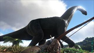 ARK: Survival Evolved #3 - Săn Thử Khủng Long Cổ Dài Brachiosaurus ^_^